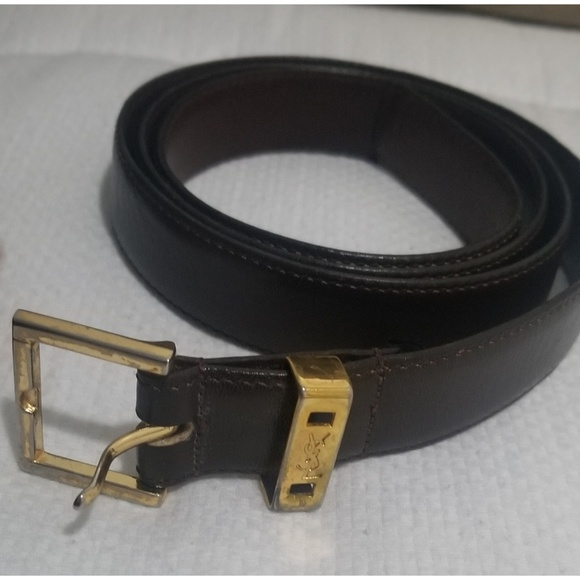 149e155e759 Yves Saint Laurent Accessories | Ysl Vintage Belt Flash Sale End ...